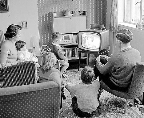 Watching local news