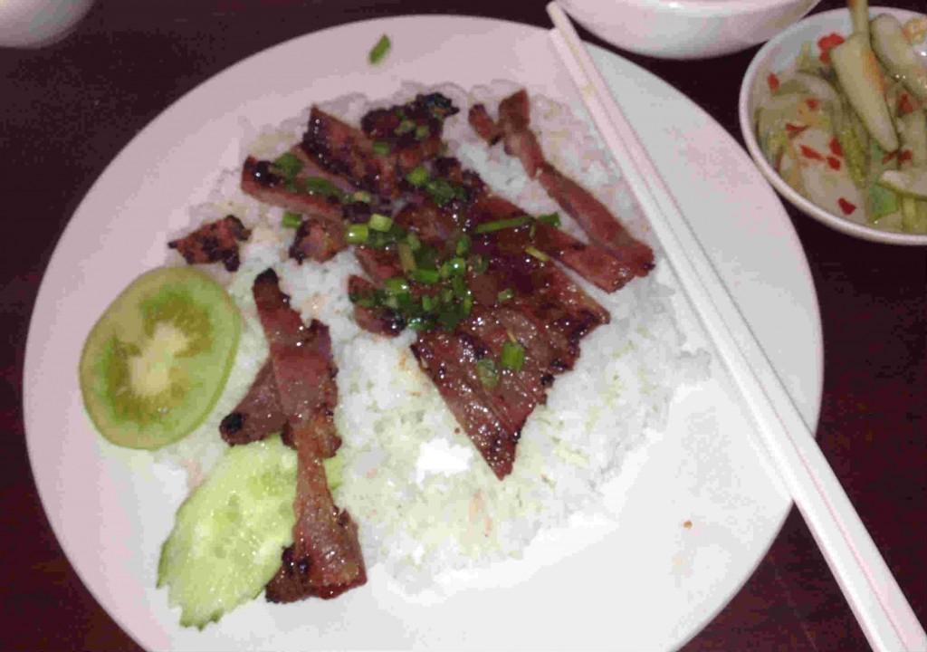 Cambodian Breakfast