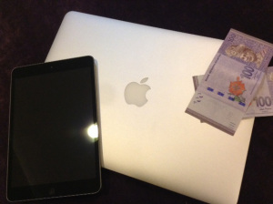 Macbook and iPad